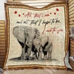Elephant Mom Blanket DCB0301 90O35