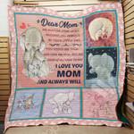 Elephant Mom M2201 82O35 Blanket