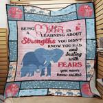 Mom Elephant Blanket SEP0903 75O55