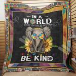 Elephant Autism M0802 82O31 Blanket