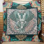 Elephant Bohemian F2607 82O40 Blanket