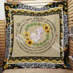 Elephant Sunflower M2101 82O40 Blanket