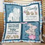 Family Elephant Blanket OCT0801 68O49