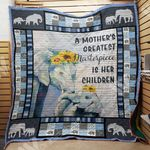 Elephant Mom M2203 82O34 Blanket