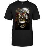 New Orleans Saints Halloween Freddy Krueger Jason Michael Myers Fan t shirt hoodie sweater