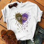 New Orleans Saints Lsu Tigers Tiny Hearts t shirt hoodie sweater