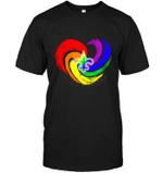 New Orleans Saints Lgbt Tornado Heart shirt hoodie sweater