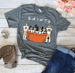 New Orleans Saints Friends Sofa t shirt hoodie sweater