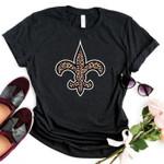 New Orleans Saints Leopard Pattern t shirt hoodie sweater