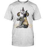 New Orleans Saints Tattoo Cat Funny Fan t shirt hoodie sweater