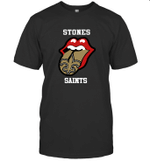 Stones New Orleans Saints The Rolling Stone Fan Funny t shirt hoodie sweater
