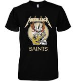 New Orleans Saints Devil Skull t shirt hoodie sweater