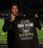 God first family second then new orleans saints football t shirt hoodie sweater