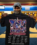 New york giants 95th anniversary 1925 2020 all players signature t shirt hoodie sweater