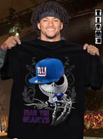 Fear The New York Giants Jack Skellington Fan t shirt hoodie sweater