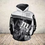 Nun Skeleton Holds New York Giants t shirt hoodie sweater
