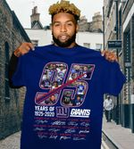 95 Years Of New York Giants 1925 2020 All Players Signatures t shirt hoodie sweater