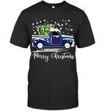 New York Giants Merry Christmas Christmas Tree Truck t shirt hoodie sweater
