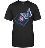 New York Giants Girl Butterfly Heart Fan t shirt hoodie sweater
