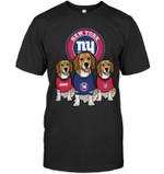 New York Giants Beagles Fan t shirt hoodie sweater