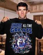 New York Giants All Time Greats Coach Players Signatures t shirt hoodie sweater