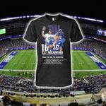 New York Giants Eli Manning Number 10 Thank You For Memories t shirt hoodie sweater