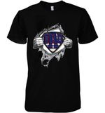 Superman New York Giants Dad Ripped t shirt hoodie sweater