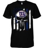 New York Giants Punisher Skull Us Flag For Fan t shirt hoodie sweater