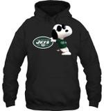 New York Jets Snoopy Sun Glasses Proud Fan Hoodie t shirt hoodie sweater