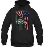 New York Jets American Flag Fan Hoodie t shirt hoodie sweater