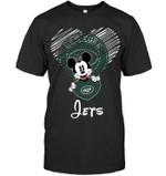 Mickey Loves New York Jets Fan t shirt hoodie sweater