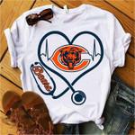 Chicago Bears Stethoscope t shirt hoodie sweater