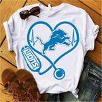 Detroit Lions Stethoscope For Lions Fanshirt t shirt hoodie sweater