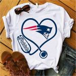 New England Patriots Heart t shirt hoodie sweater