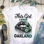 This Girl Loves Oakland Oakland Raiders Oakland Athletics Lips t shirt hoodie sweater