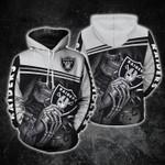 Oakland Raiders Skull Maiden Fan t shirt hoodie sweater