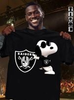 Snoopy Oakland Raiders Logo t shirt hoodie sweater