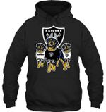 Oakland Raiders Rottweilers Fan t shirt hoodie sweater