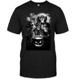 Oakland Raiders Halloween Freddy Krueger Jason Michael Myers Fan t shirt hoodie sweater