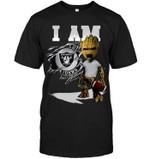 I Am Oakland Raiders Groot shirt hoodie sweater