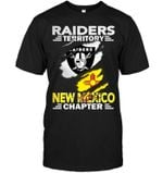 Oakland Raiders Territory New Mexico Chapter Ripped Black t shirt hoodie sweater