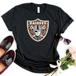 Oakland Raiders Leopard Pattern For Football Lover t shirt hoodie sweater