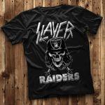 Slayer Oakland Raiders For Raiders Fan t shirt hoodie sweater