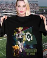 Packers Of Prey Green Bay Packers Birds Of Prey Harley Quinn t shirt hoodie sweater