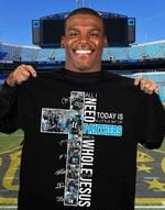 All I Need Today Is Little Bit Of Panthers And A Whold A Lot Of Jesus Carolina Panthers Signed t shirt hoodie sweater