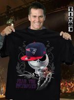 Fear The Patriots Jack Skellington New England Patriots Halloween t shirt hoodie sweater