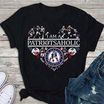 I Am A Patriotsaholic New England Patriots t shirt hoodie sweater