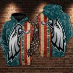 Philadelphia Eagles For Eagles Fan American Flag Camouflage Pattern t shirt hoodie sweater