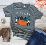 Philadelphia Eagles Friends On Sofa t shirt hoodie sweater