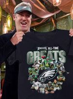 Philadelphia Eagles All Time Great Players Signed t shirt hoodie sweater